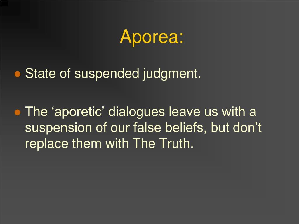 Aporea: