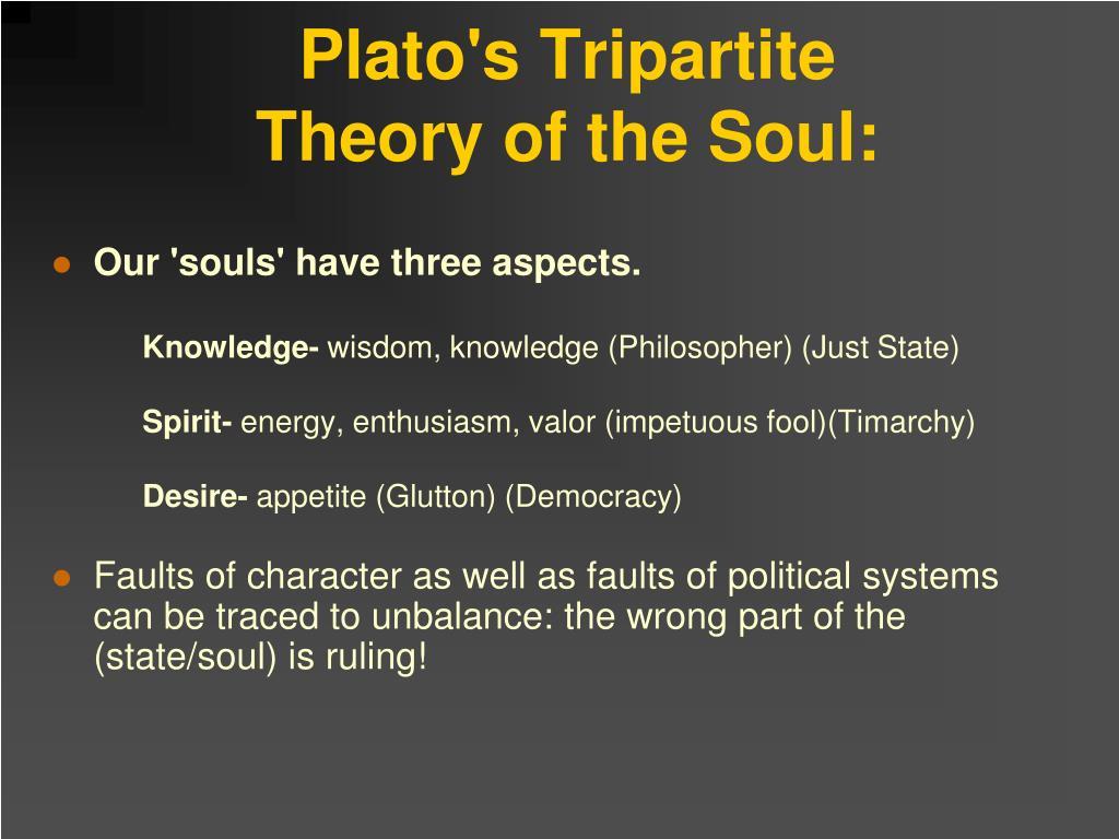 Plato's Tripartite