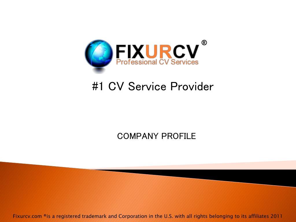 1 cv service provider l.