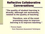 reflective collaborative conversations3