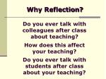 why reflection9
