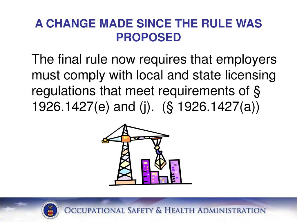 A CHANGE MADE SINCE THE RULE WAS PROPOSED