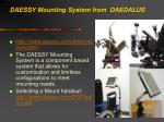 daessy mounting system from daedalus