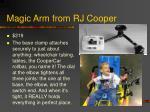 magic arm from rj cooper
