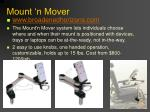 mount n mover