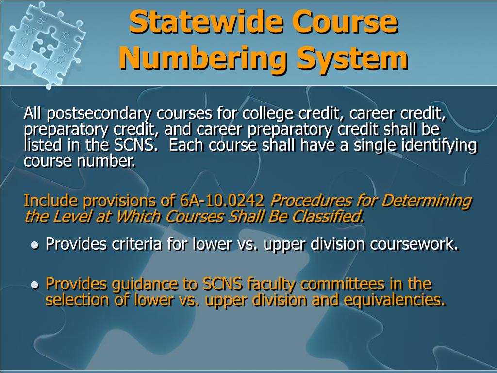 Statewide Course