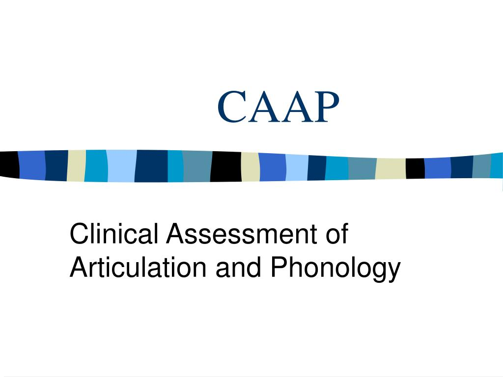 an assessment of the caap law