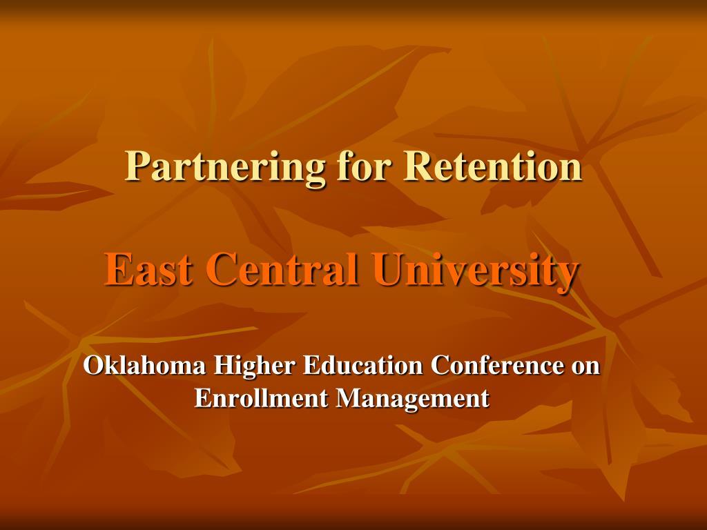 partnering for retention l.