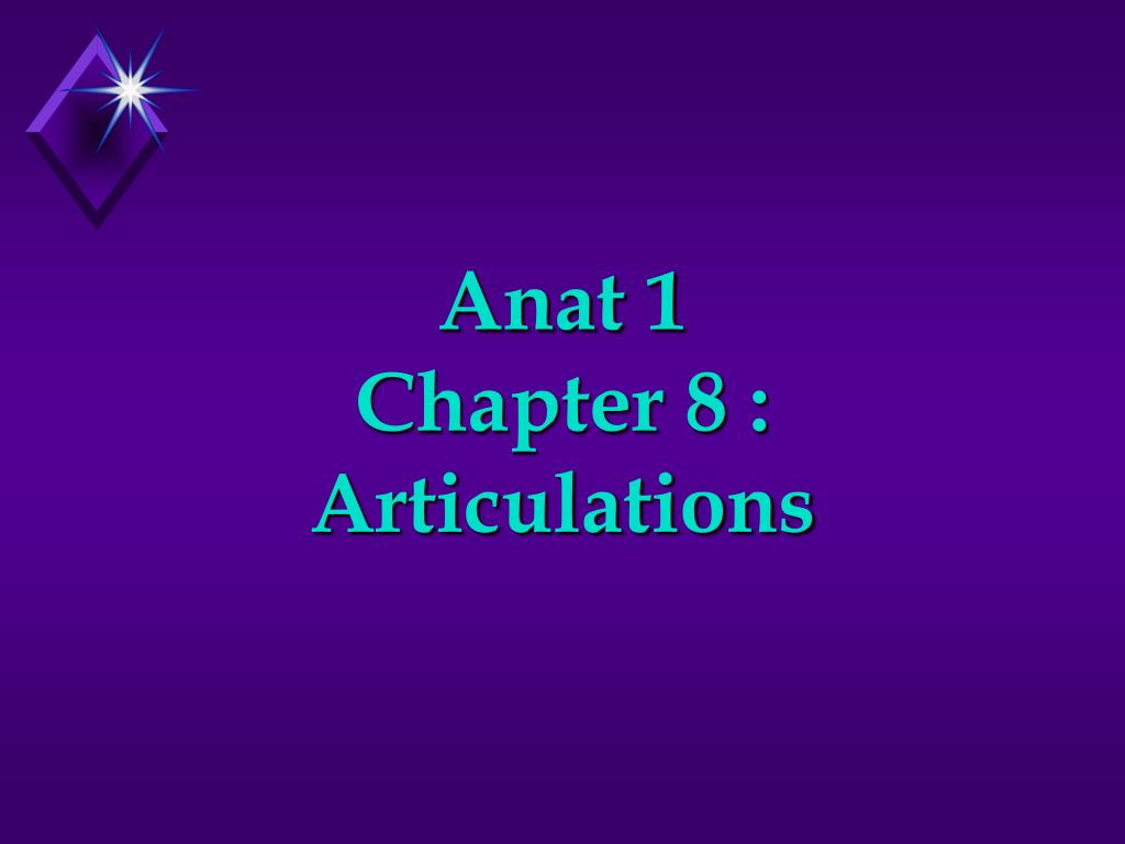 anat 1 chapter 8 articulations l.