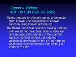 capon v eshhar 418 f 3d 1349 fed cir 2005