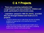 c y projects