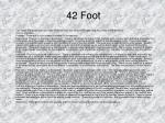 42 foot