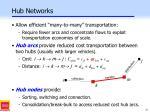 hub networks