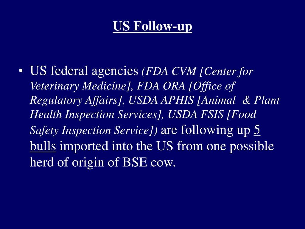 US Follow-up