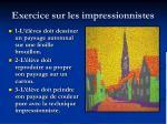 exercice sur les impressionnistes19