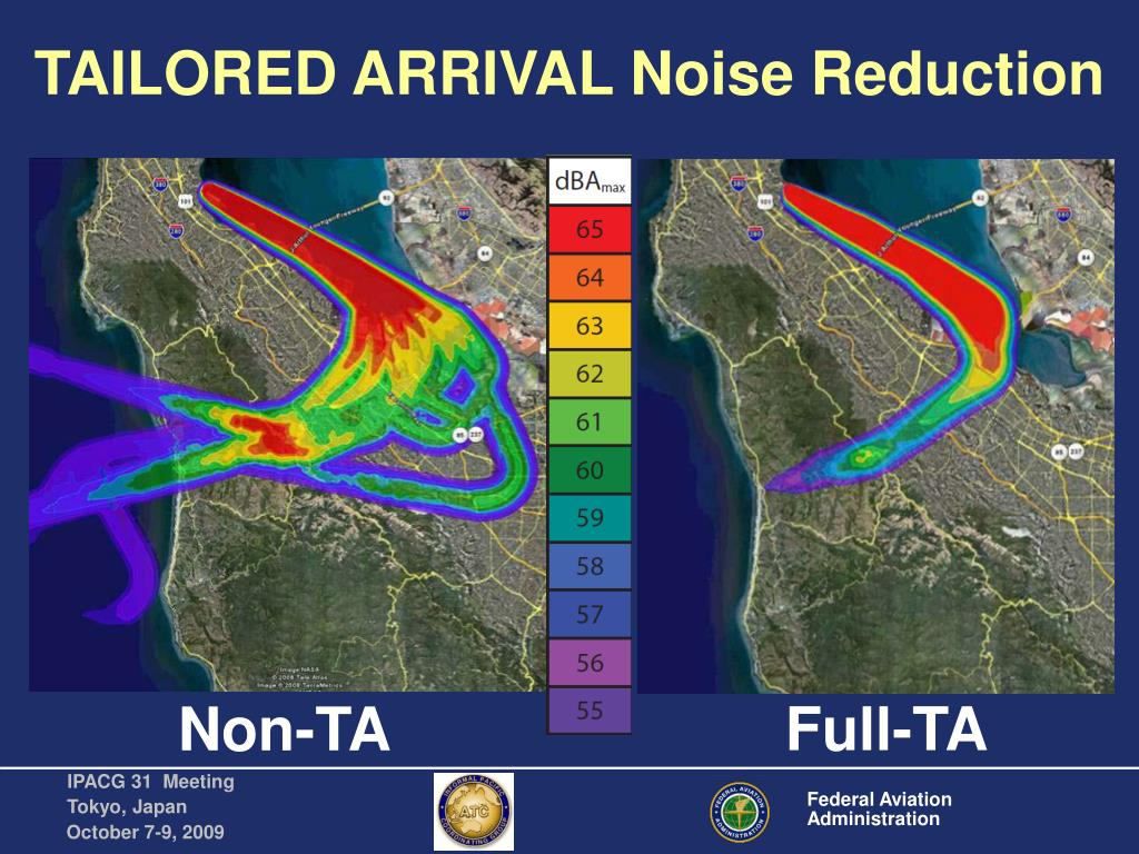 TAILORED ARRIVAL Noise Reduction