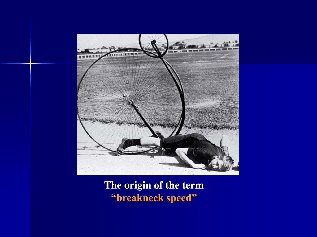 The origin of the term