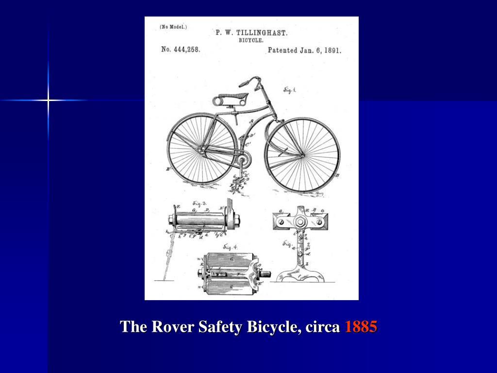 The Rover Safety Bicycle, circa
