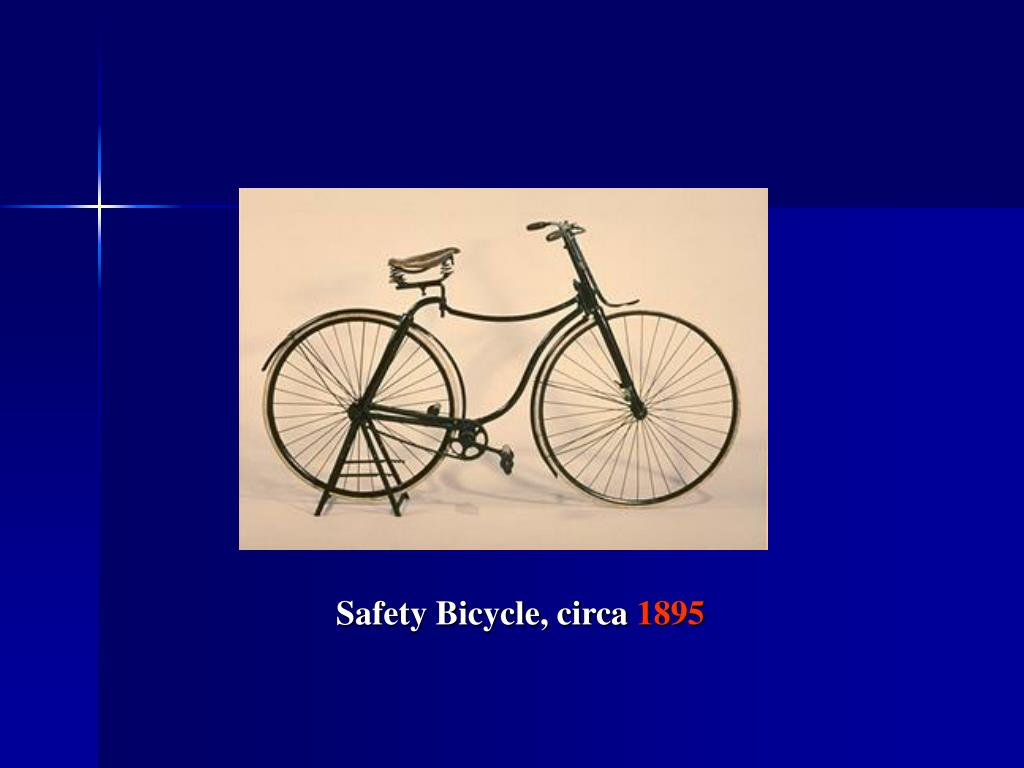 Safety Bicycle, circa