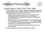 lobsterpot phishing case