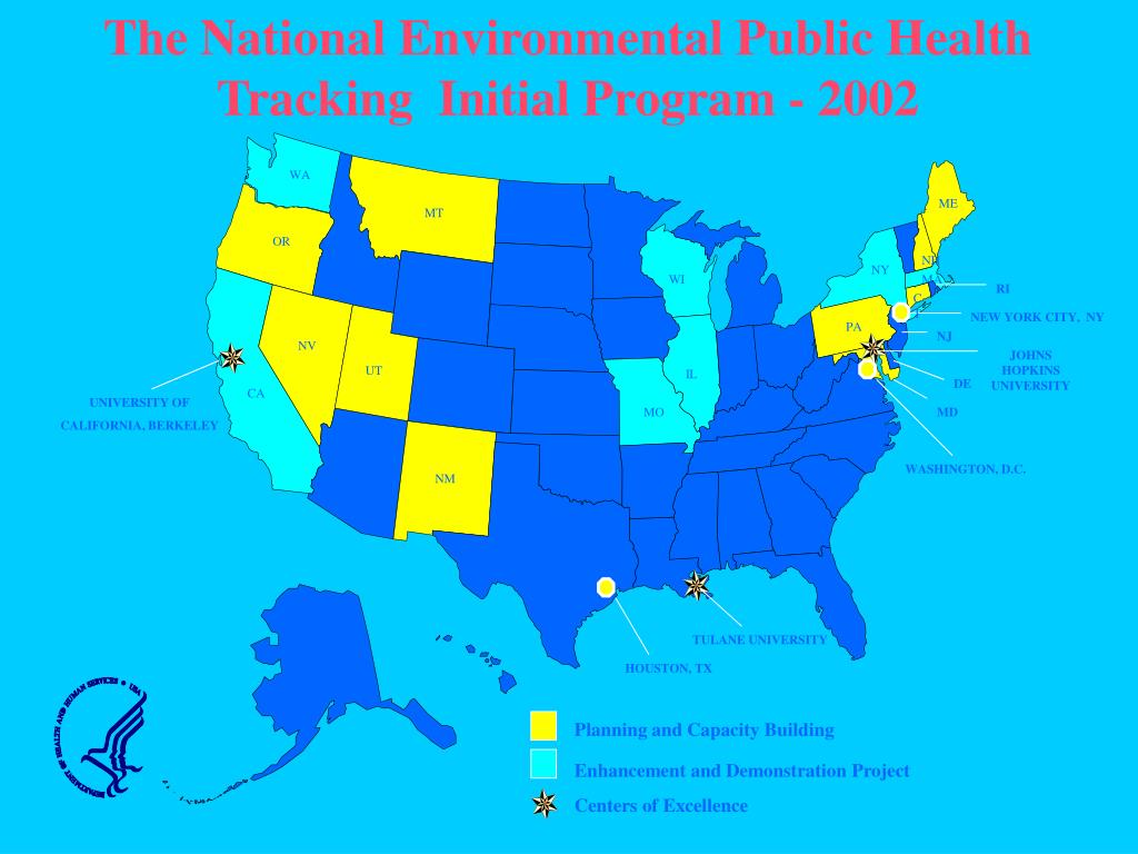 The National Environmental Public Health Tracking  Initial Program - 2002