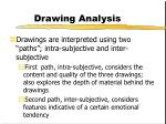drawing analysis