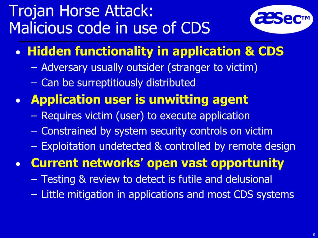 Trojan Horse Attack: