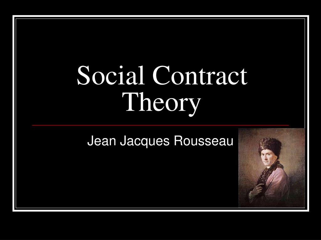 social contract theory l.