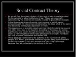 social contract theory25