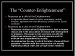 the counter enlightenment