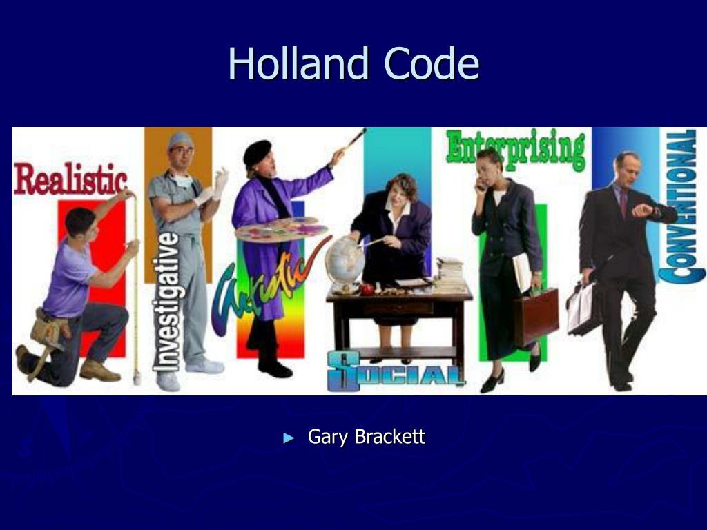 holland code l.