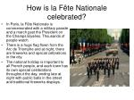 how is la f te nationale celebrated