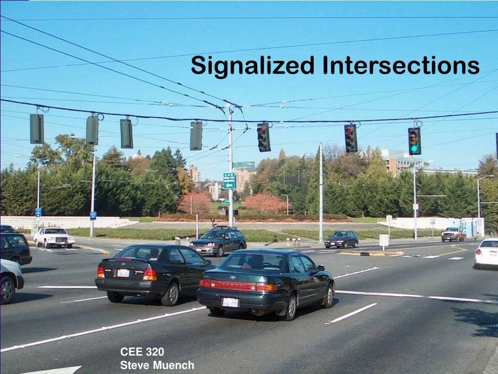 signalized intersections l.
