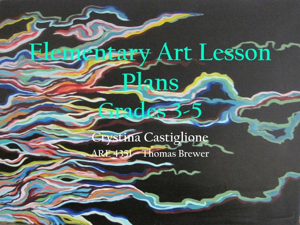 elementary art lesson plans grades 3 5 l.