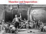 manchus and imperialism10