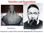 manchus and imperialism14