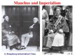 manchus and imperialism15