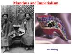 manchus and imperialism21
