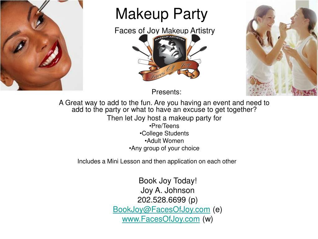 makeup party l.