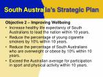 south austral ia s strategic plan6