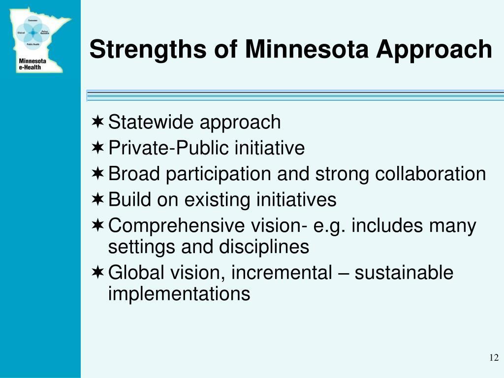 Strengths of Minnesota Approach