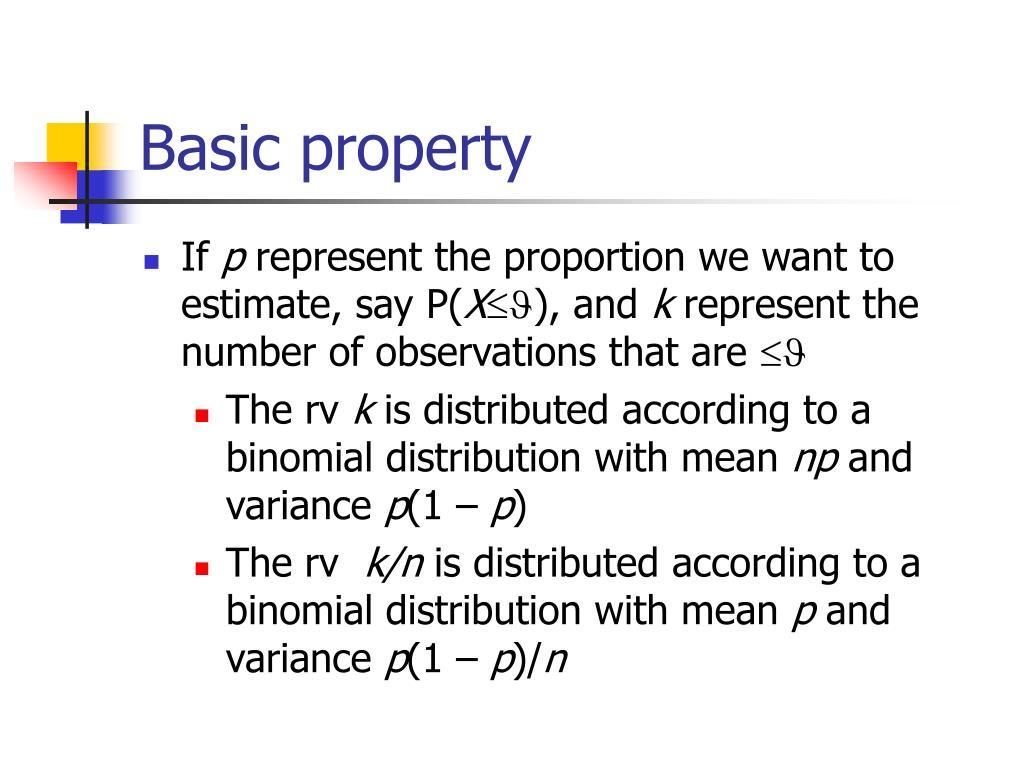 Basic property