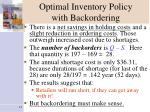 optimal inventory policy with backordering13