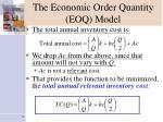 the economic order quantity eoq model6