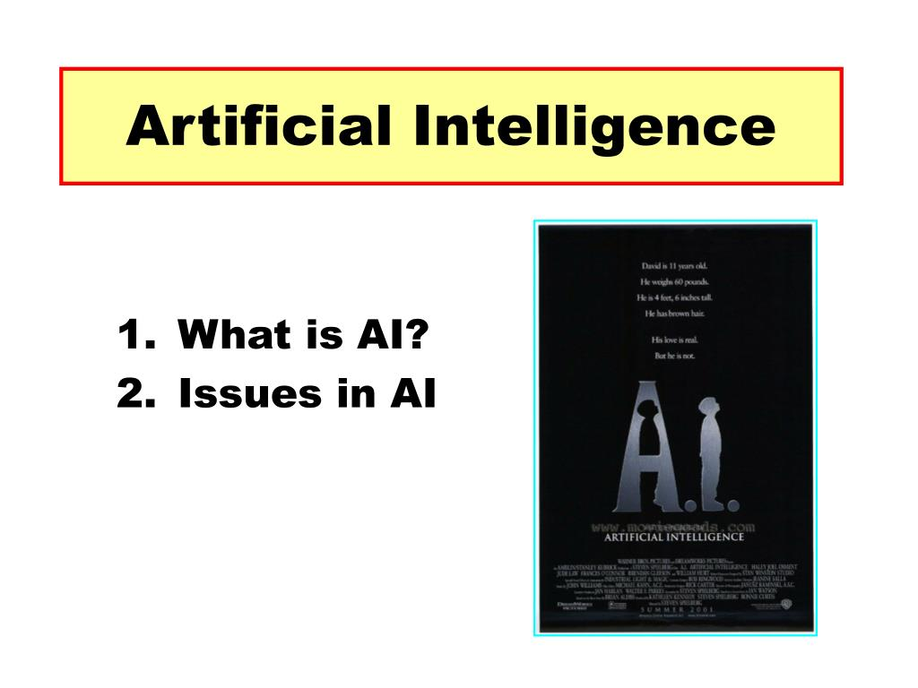 artificial intelligence l.