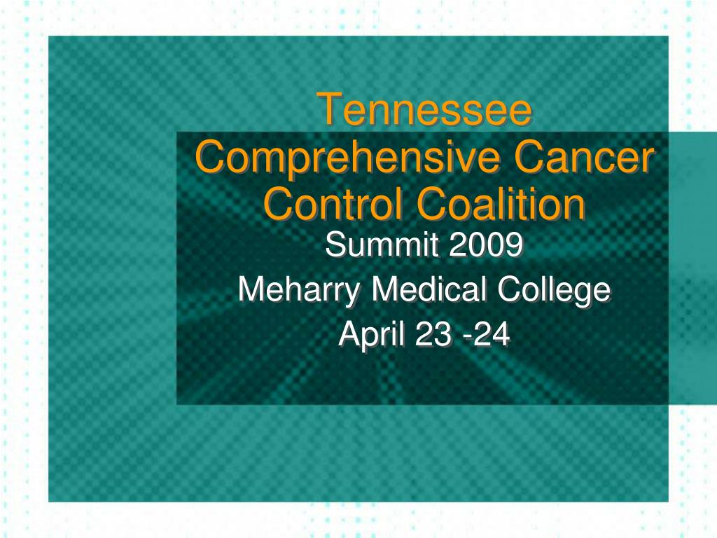 tennessee comprehensive cancer control coalition l.