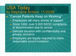 usa today by stephanie armour 11 20 06