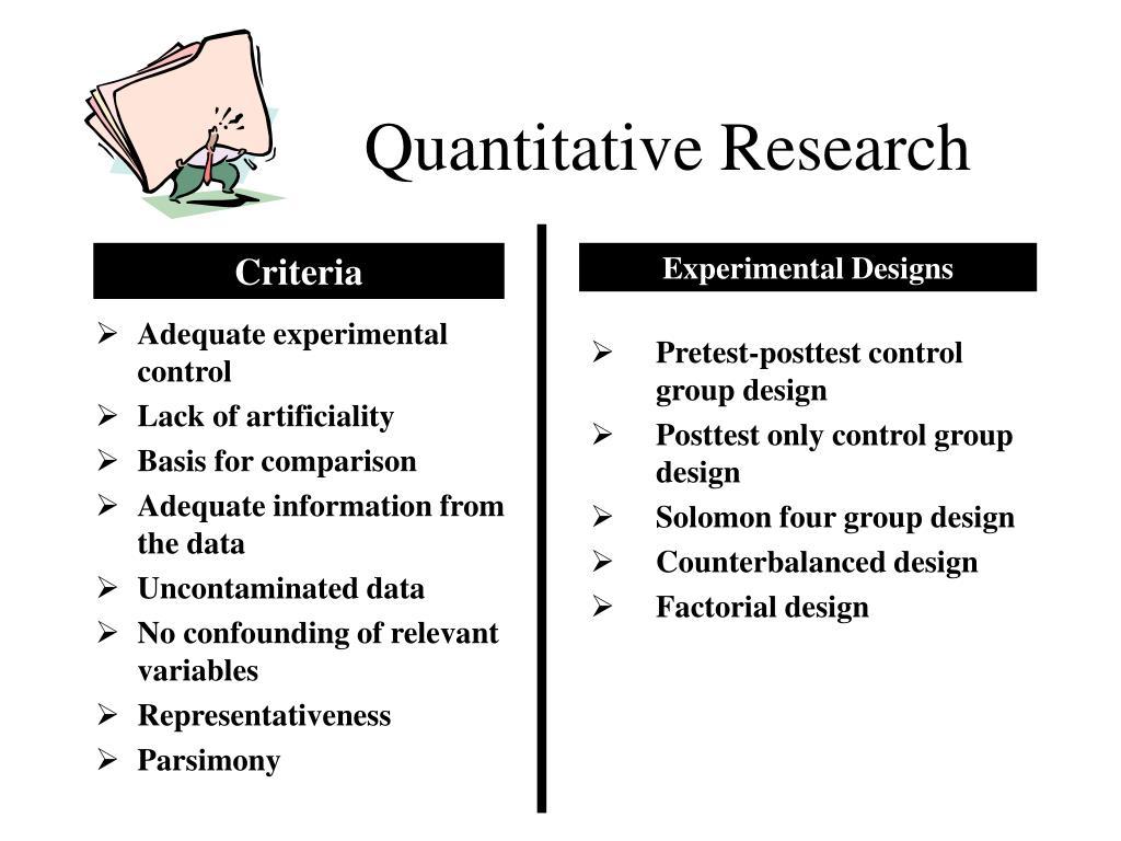 quantitative research l.