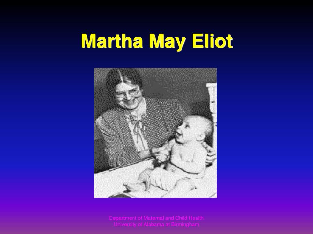 Martha May Eliot