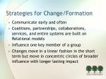 strategies for change formation15